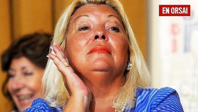 "Politización extrema: Carrió aseguró que quieren ""voltear"" a Bullrich por el caso Maldonado"