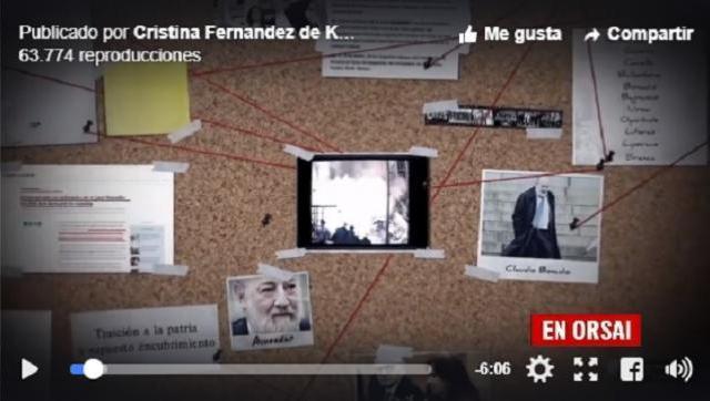 Mirá el video que CFK le dedicó al juez Bonadío