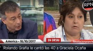 Rolando Graña destrozó a Graciela Ocaña en el programa de Pamela