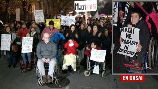 El Gobierno de Macri lucha en la Justicia para NO restituir las pensiones por discapacidad