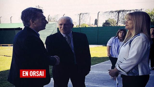 De frente: Magario reclamó los fondos necesarios para la Universidad de La Matanza