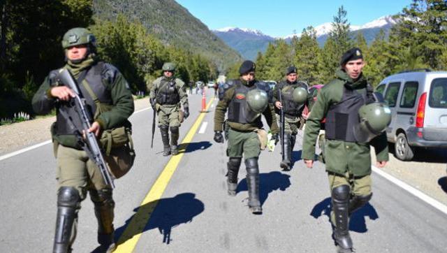Patricia Bullrich justificó el fusilamiento y la represión en Bariloche
