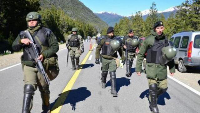 La investigación desmintió al Gobierno por el uso de armas de mapuches