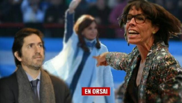 La funcionaria ultramacrista Laura Alonso presiona al juez para que vaya contra Cristina