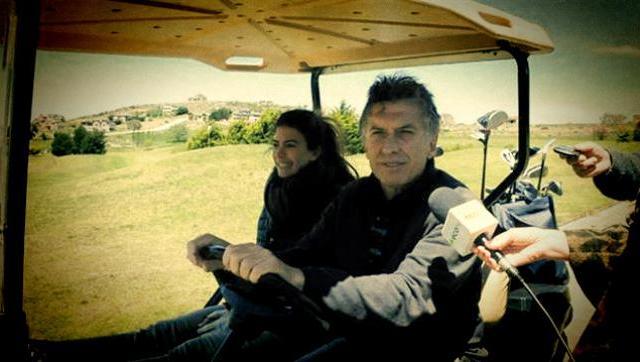 Macri compra millonarios carros de golf para no caminar en la quinta de Olivos
