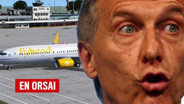 En su primer vuelo FlyBondi tuvo que aterrizar de emergencia en Córdoba