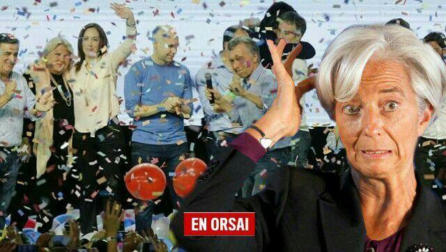 Christine Lagarde, titular del FMI