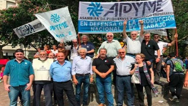 Los pequeños y medianos empresarios también marchan el 21 con los sindicatos
