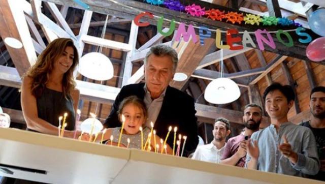 Después de soplar la vela, Macri se volvió a ir de vacaciones