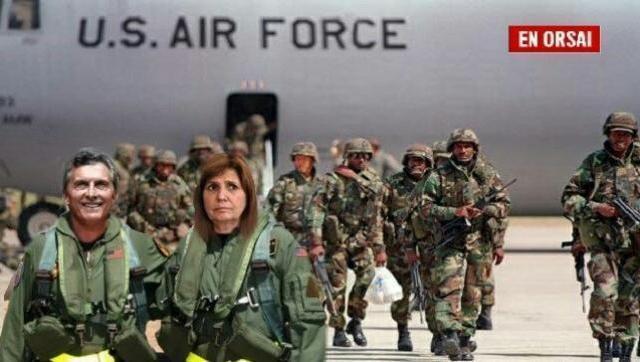 Patria no, colonia sí: Patricia Bullrich acordó la instalación de una base de EE.UU. en Misiones