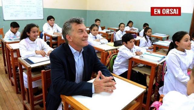 Luego de eliminar la paritaria nacional, Macri va por el Incentivo Docente