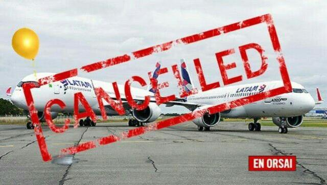 Desde 2005 nunca dejaron de expandirse, hasta hoy: la aérea Latam cierra dos rutas