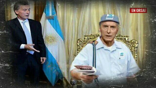 Macri, el presidente de Argentina le hace una demanda multimillonaria al estado argentino