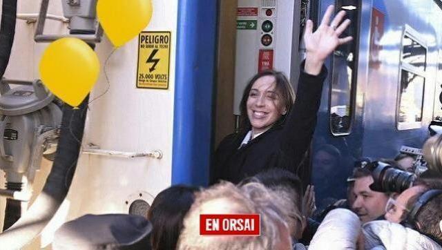 Piden a María Eugenia Vidal la reapertura de ramales: