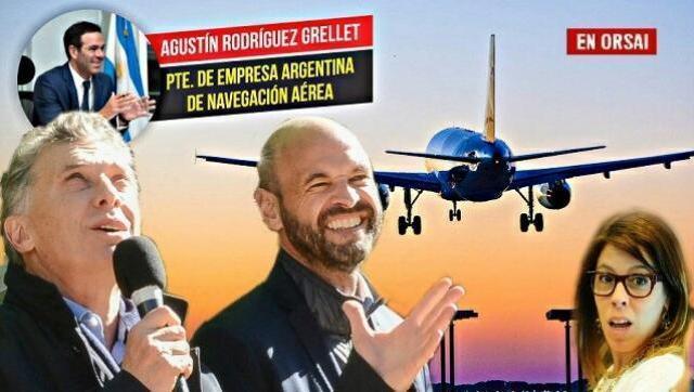 Dietrich le regaló rutas aéreas a la empresa de la hermana de un funcionario suyo