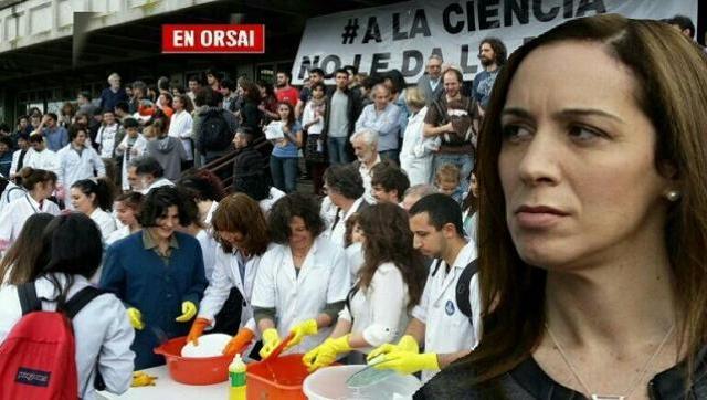 Vidal endurece su guerra contra los científicos bonaerenses