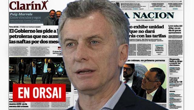 Los diarios oficialistas reflejan el desconcierto del Gobierno