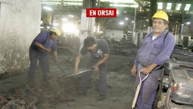 Cooperativa metalúrgica interrumpe su producción porque le cortaron el gas