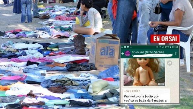b841e24573a4 Duele Argentina: crece la venta de ropa usada
