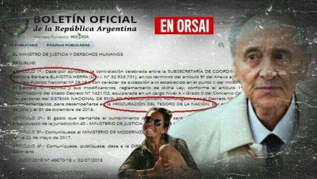 Nombran en un puesto clave del gobierno a abogada de Magnetto, el capo de Clarín