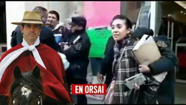 Salta: detienen a una joven solo por filmar la detención de un vendedor ambulante