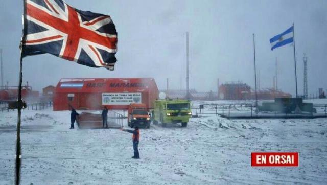 Argentina compartirá bases antárticas con los que nos robaron las Malvinas