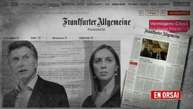 Inversores alemanes asustados con Argentina