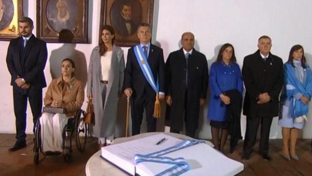 Tucumán: Macri reafirmó el rumbo del Gobierno y pidió consenso para el ajuste