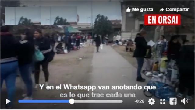 Pobres ayudando a pobres: el trueque volvió a José León Suarez