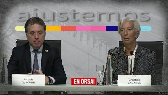 Lagarde dejó en claro que el ajuste tiene que ser todavía mayor