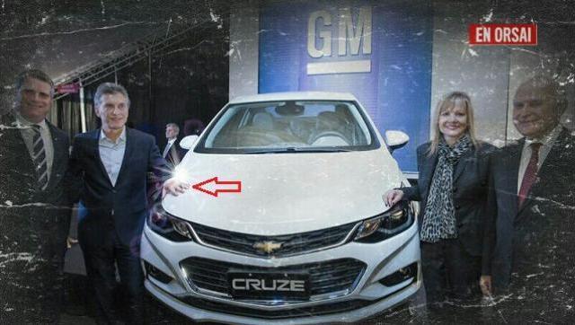 Por la crisis del país, General Motors suspende a 1.500 trabajadores