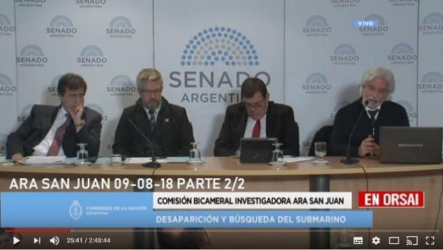 """Últimas revelaciones sobre el ARA San Juan: """"La explosión fue externa al casco del submarino"""""""