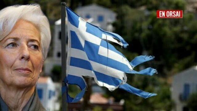 8 años del FMI en Grecia: 30% de pobreza y sueldos más bajos (sin paritarias)