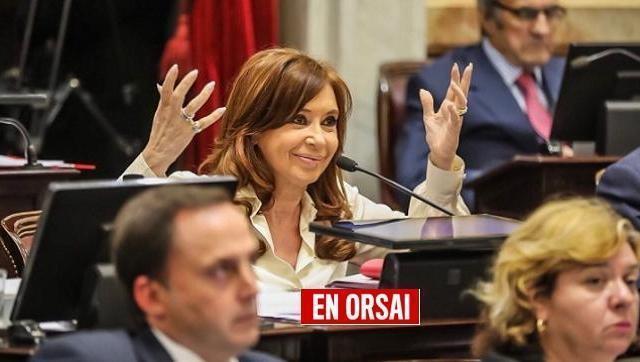Cristina apuntó contra Macri y