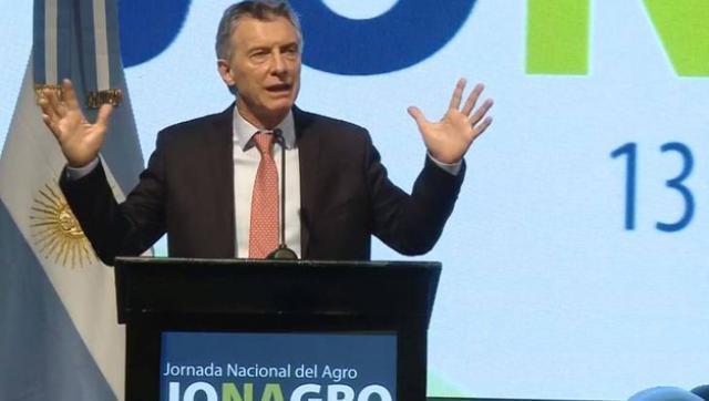 Macri ratificó el rumbo del ajuste ante las patronales del campo