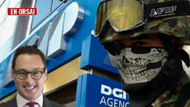"""Llevan engañados a trabajadores de AFIP a """"capacitarse"""" en maniobras de """"tipo militar"""""""