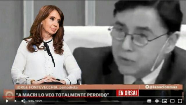 Cristina pidió citar a Fontevecchia por sus dichos sobre Bonadio