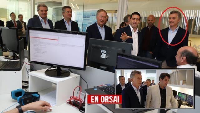 Macri visita una empresa que hace un mes despidió el 20% de sus empleados