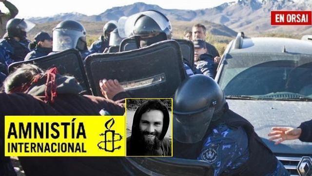 Amnistía Internacional reclama que el Estado argentino tiene obligación de esclarecer los hechos y sancionar a los responsables