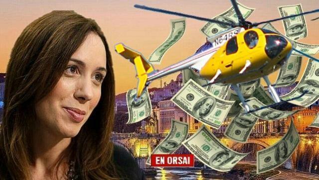 Vidal gasta casi 250.000 pesos por día para sus vuelos mientras pide que nos ajustemos
