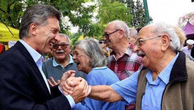 Macri lo hizo: las jubilaciones volvieron al nivel de 2001