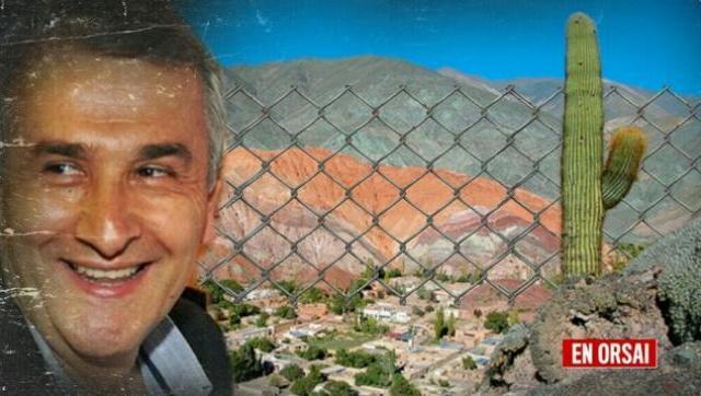 Un amigo de Gerardo Morales se apropió de una porción del Cerro de los Siete Colores