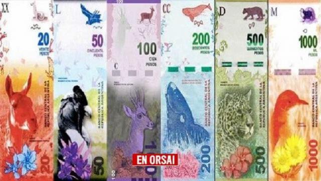 De billetes, densidad histórica, símbolos y neoliberalismo