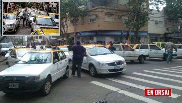 Taxis: la actividad cayó entre 40 y 50%