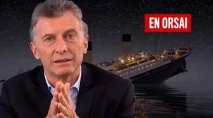 """""""Siento que vamos en el Titanic y el Gobierno cree que se va a hundir el iceberg"""""""
