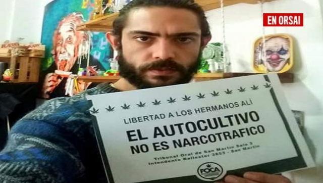 Persecución: lo procesan por enseñar sobre el cannabis