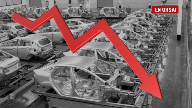 La producción de autos arrancó el año con una caída de casi 33 por ciento