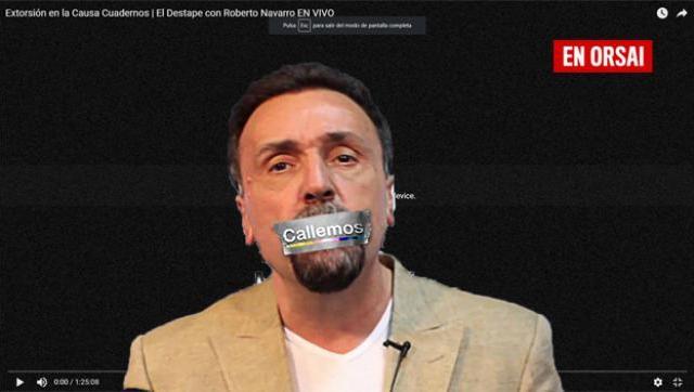 Censuraron a El Destape cuando publicaron la denuncia que involucra al fiscal Stornelli