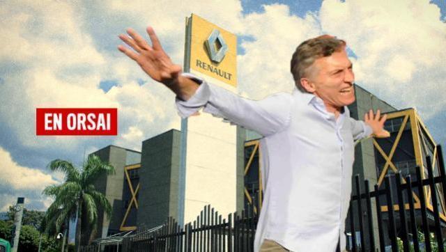 Siguen los éxitos de Cambiemos: Renault suspendió a 1.500 trabajadores