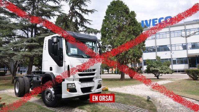 Industricidio: Iveco suspende a 900 operarios de su planta cordobesa